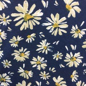 American Rag Tops - American Rag Daisy Print Blue Top